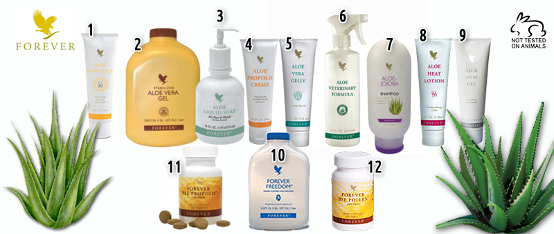 Forever Living Aloe Products Suitable For Pets
