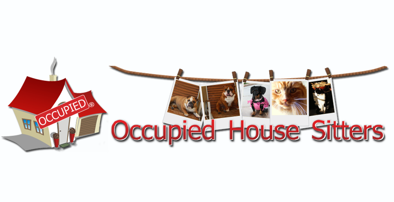 occupied house sitters