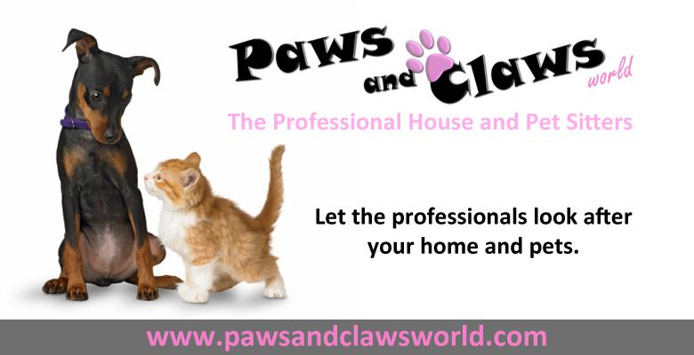 Pet Sitters Paws And Claws World Pethealthcare Co Za