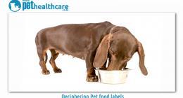 Deciphering Pet food labels